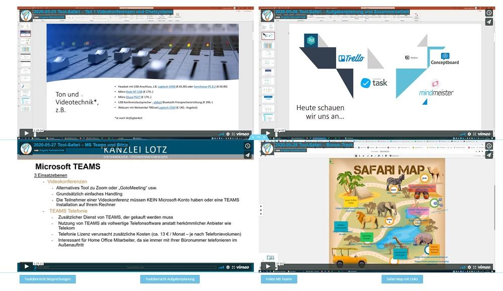 Screenshot Toolsafari